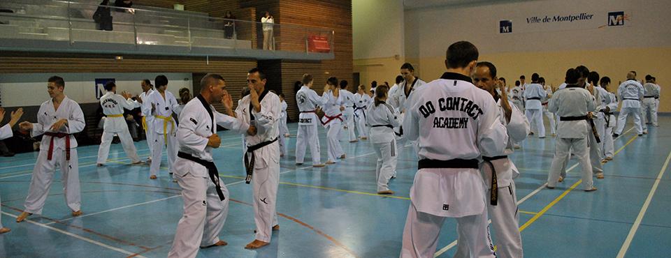 Cours de Taekwondo gymnase à Montpellier